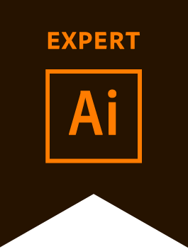 Adobe Illustrator Expert Badge