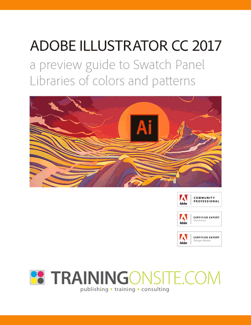 Illustrator CC 2017 swatch guide