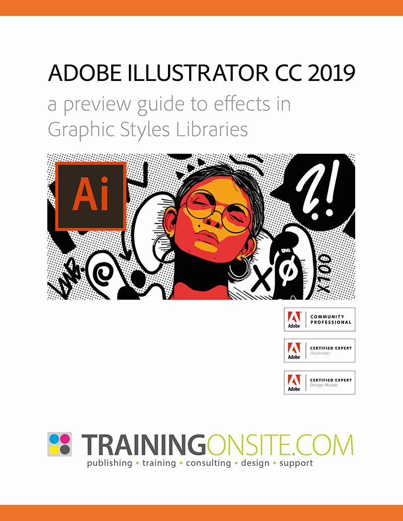 Illustrator CC 2019 graphic styles