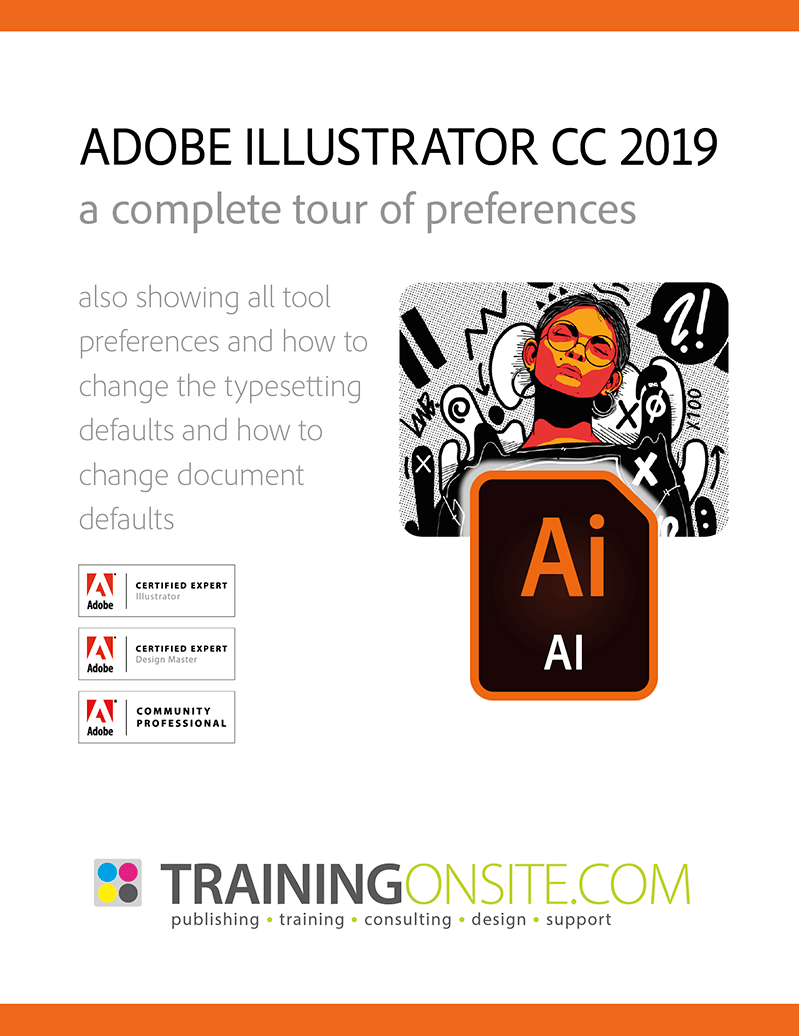 Illustrator CC 2019 tour preferences