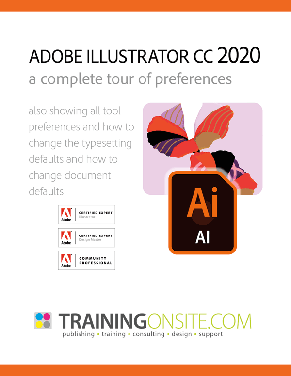 Illustrator CC 2020 tour preferences