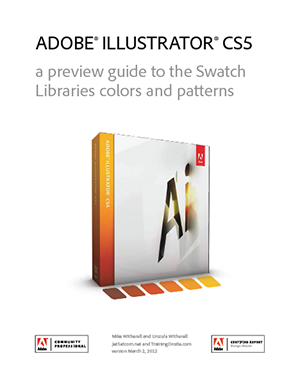 Illustrator CS5 preview guide to swatch libraries colors and patterns