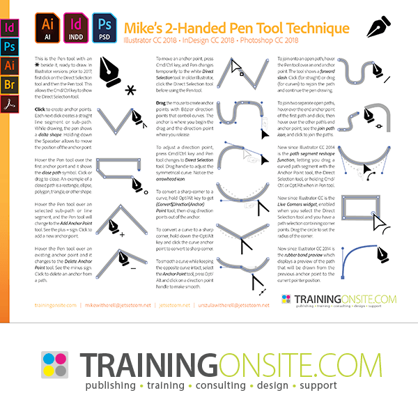 Mike's Pen Tool Technique 2018